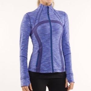 Lululemon define jacket wafs royal blue